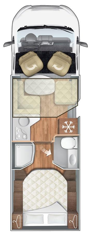 Pianta Camper Horon 65XT
