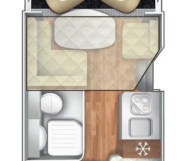 Pianta Camper Horon 85XT