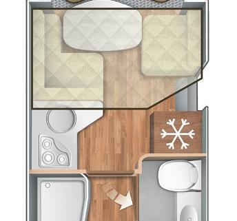 Pianta Camper Horon 86XT