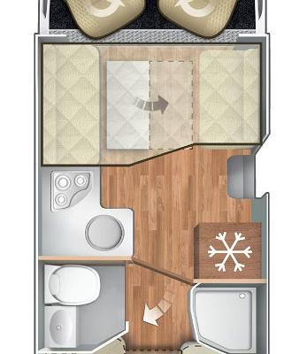 Pianta Camper Horon 87XT