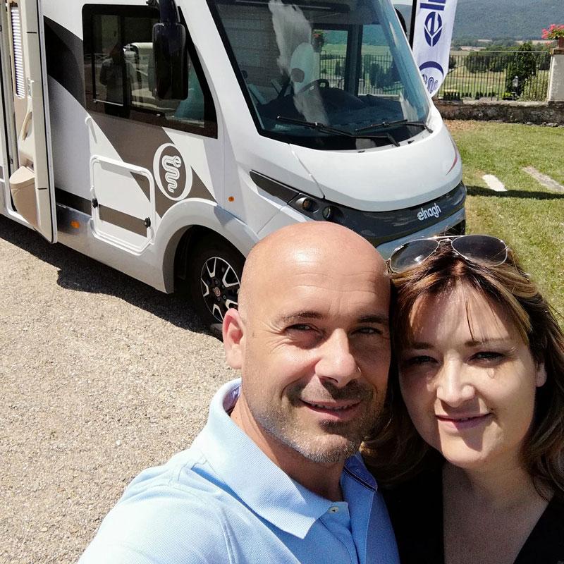 Massimo e Claudia, Quelli dei Camper